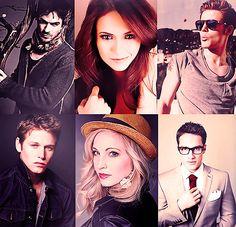 The Vampire Diaries Family....