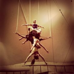 Gorgeous...omg i would love to learn trapeze