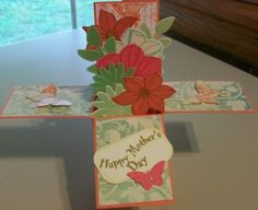 Mother's Day Card in a Box by stampinspooky - Cards and Paper Crafts at Splitcoaststampers
