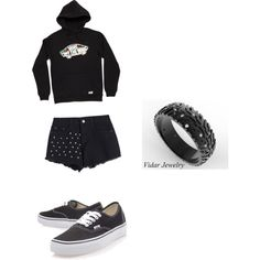A fashion look from March 2015 featuring Vans hoodies and Vans sneakers. Browse and shop related looks.