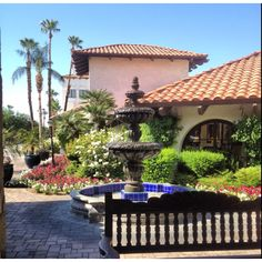 Palm Desert, Rancho Las Palmas CA. Amazing place to spend the day at the spa. Gorgeous private pool area to relax and have a cool drink delivered to your chaise