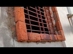 House Porch Design, Bungalow House Design, House Design Photos, Design Your Dream House, House With Porch, Wooden Window Design, Door And Window Design, Wooden Window Frames, Brick Design