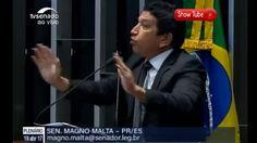 """Magno Malta:""""Jogo da Baleia Azul e lei de imigração"""""""