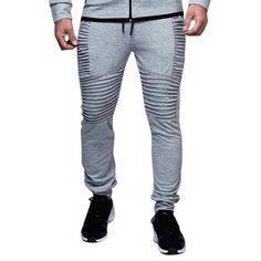 SHUJIN Plus Size Men Pants Autumn Fashion Solid Pleated Joggers Sweaterpants Casual Bodybuilding Hip Hop Skinny Work Pants Casual Curvy Fashion, Curvy Fashion Plus Size, Sweater Fashion, Fashion Pants, Sweater Outfits, Fasion, Jogger Pants, Joggers, Sweatpants