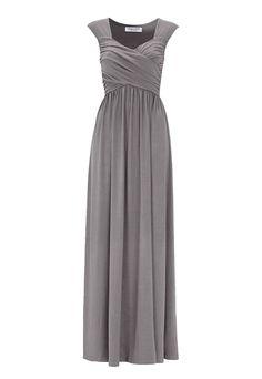 Chiara Forthi Kirily Maxi Dress Dark grey - Bubbleroom