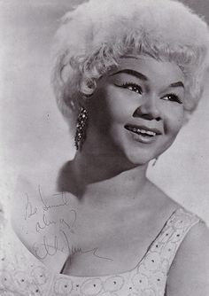 Credit: Gilles Petard/Redferns Etta James in 1960