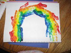 handprint calendar- preschool