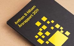 Brochure Design – Anthon B Nilsen 2011 Webdesign Inspiration, Brochure Design Inspiration, Print Design, Web Design, Graphic Design, Design Trends, Design Ideas, Creative Brochure, Foil Stamping