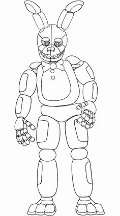 Fnaf Coloring Pages. Coloring Pages Page Unsurpassed Fnaf Bonnie Line Printable World Cup Sansheeen Freddy Plush Springtrap Front Load Washer Iphone In Machine Washing Sink Hookup Hoses Amps Used Target Minion Coloring Pages, Super Coloring Pages, Monster Coloring Pages, Spring Coloring Pages, Cat Coloring Page, Free Coloring Sheets, Coloring Pages For Boys, Animal Coloring Pages, Coloring Pages To Print