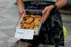 Chocolate Chip Banana Cookies with Grasshoppers or Silkworms