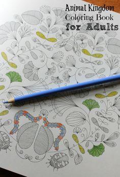 Animal Kingdom Color Me Draw By Millie Marotta