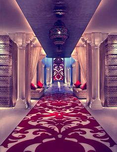 The Royal Spa, India! A spa idea, isn't? Belling, Smith Carew, Owen: What do we think? Idea approved by Maison Valentina Spa Design, House Design, Spa Interior, Interior And Exterior, Interior Design, Deco Spa, Salas Lounge, Casa Patio, Luxury Spa