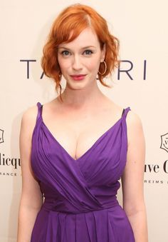 Just exercising my crush on Christina Hendricks, don't mind me.