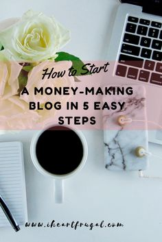 How to Start a Money-Making Blog in 5 Easy Steps - Iheartfrugal. Are you looking to make more money? Starting a blogging can be a great creative outlet and give you a way to earn more. Check out my blogging tutorial in this post.