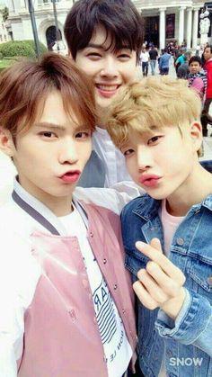 Rocky, Eunwoo & MJ | Astro