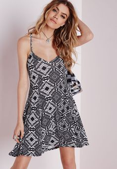 Need a new dress? From party to day dresses and everything in between, we've got you covered with our latest drop of women's dresses. Skater Dresses, Day Dresses, Aztec Dress, Wardrobe Ideas, Summer Wardrobe, Missguided, New Dress, Dress Black, Black And White