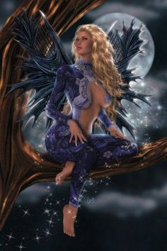18 more Pins for your Fantasy board Fantasy Girl, Chica Fantasy, Fantasy Art Women, Beautiful Fantasy Art, Beautiful Fairies, Fairy Pictures, Fantasy Pictures, Gif Pictures, Moon Fairy