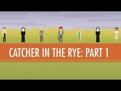 In which John Green examines JD Salinger's novel The Catcher in the Rye. John pulls out the old school literary criticism by examining the text itself rather than paying attention to the biographical or historical context of the novel (that's for next week). Listen, words matter. The Catcher in the Rye has managed to endure without a movie adapt...