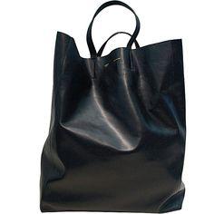 black bag - celine cabas bag
