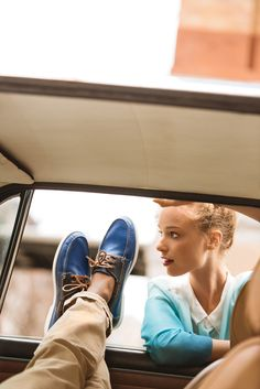 Road trip of a lifetime in the Fire Island Boat Shoe #WanderingsSole
