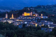 Caldarola by night