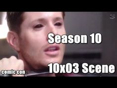 I CANT BELIEVE I DIDNT SEE IT EARLIER! OH MY!!!! dEAN TRYING TO KILL sAM!!  Supernatural Comic Con 2014 - Season 10 Scene