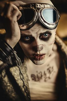 """amazing cosplay via wisekumagoro.tumblr """"Witness me! See you in Valhalla!"""" Nux (Mad Max Fury Road)"""