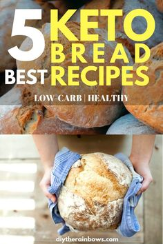 Let's become the smart keto dieter! When other dieters struggle to remove bread from their everyday meal, you still can eat the bread and maintain the ketosis state just by looking at the list of 5 best low carb bread recipes right below.