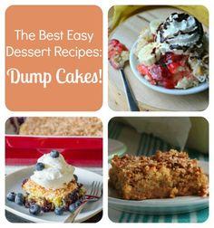 The Best Easy Dessert Recipes: 18 Dump Cake Recipes