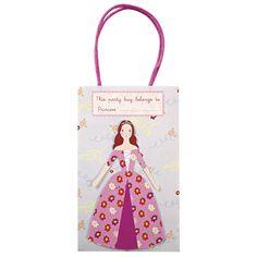 Princess Party Bags by Meri Meri at www.theoriginalpartybagcompany.co.uk