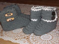 sokken haken | En hier ook het patroon van de slofjes: