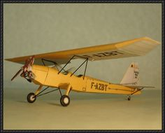 Potez 60 Free Aircraft Paper Model Download - http://www.papercraftsquare.com/potez-60-free-aircraft-paper-model-download.html