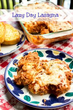 Lazy Day Lasagna {Ravioli Casserole} - This Silly Girl's Life