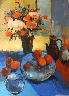 Stil life Contemporary, Drawings, Illustration, Painting, Life, Art, Art Background, Illustrations, Painting Art