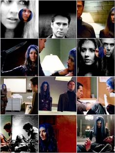 Wesley Wyndam-Pryce and Illyria (Angel): He's a rogue demon hunter, she's the demon wearing the body of the girl he loved. He's an ex-Watcher, she's an ex-primordial-godking. They fight crime!