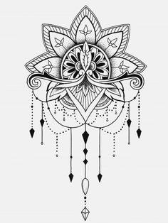 tattoo - mandala - art - design - line - henna - hand - back - sketch - doodle - girl - tat - tats - ink - inked - buddha - spirit - rose - symetric - etnic - inspired - design - sketch Tattoo Mandala Feminina, Dotwork Tattoo Mandala, Mandala Tattoo Design, Tattoo Designs, Mini Tattoos, Sexy Tattoos, Flower Tattoos, Body Art Tattoos, Sleeve Tattoos
