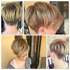 Hottest Short Pixie Haircuts, Undercut for Women Short Hair Mom Hairstyles, Undercut Hairstyles, Pretty Hairstyles, Short Pixie Haircuts, Short Hair Cuts, Short Hair Styles, Pixie Bob, Hair Junkie, Hair Brained