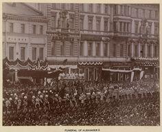 Funeral procession of Alexander III, Emperor of Russia Queen Victoria Prince Albert, Maria Feodorovna, Tsar Nicholas, Bald Heads, Choir, Priest, Emperor, Funeral, Paris Skyline