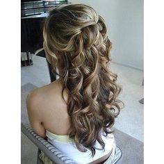 Romantic hair - this is how I think I will have my hair done.