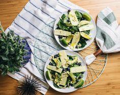 Zucchini Avocado Green Salad | CASA & Company