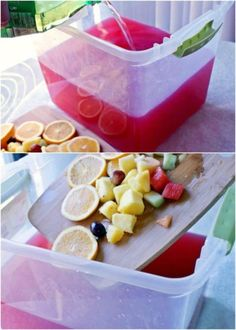 Trash Can Punch Sangria. This Redneck bash is a tragedy - recipes, decor, tablescapes, costumes and Redneck Birthday, Redneck Party, 30th Birthday, Hillbilly Party, Mystery Party Food, Mystery Parties, Mystery Dinner, White Trash Costume, Trash Can Punch