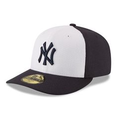 New York Yankees New Era Game Diamond Era Low Profile 59FIFTY Fitted Hat - Navy/White