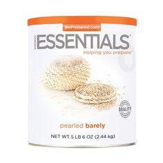 Emergency Essentials® Pearled Barley - 86 oz - http://www.disasternecessities.com/product/FS%20G150