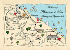 Win personalised wedding invitations worth �245 from Cute Maps! � cutemaps.co.uk