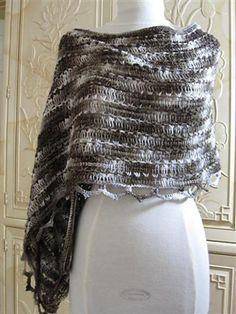 Fanette Shawl in Tunisian Crochet