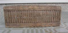 Antique-17-1800s-Swedish-RARE-Wood-Tape-Loom-Weaving-Dalecarlia-Sweden