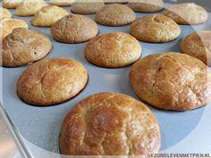 Met dit basisrecept maak je altijd de lekkerste koolhydraatarme muffins. Of je nu vanille muffins, chocolade muffins, kaas muffins of speculaasmuffins wilt.