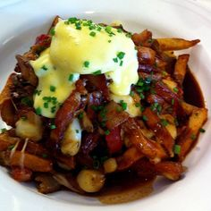 Breakfast Poutine @ Delhi St. Bistro in Guelph -- for this, I would actually get up in time for breakfast!!
