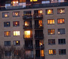 'warm light' sweden