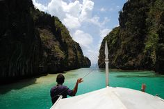 Bacuit Archipelago (Philippines): 'Cruise through the labyrinthine Bacuit Archipelago in northern Palawan, past secluded beaches, pristine lagoons and rocky islets. It's a thrilling mixture of limestone escarpments, palm tree–lined white-sand beaches and coral reefs.' http://www.lonelyplanet.com/competitions/the-philippines/water-activities